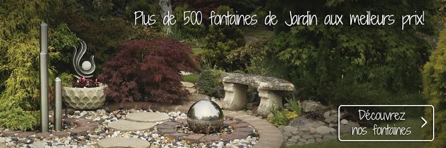 Fontaines de Jardin et Fontaines d\'Intérieur à partir de 9,99 €