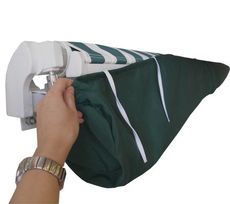 sac de protection pour store banne vert 5m 37 99. Black Bedroom Furniture Sets. Home Design Ideas
